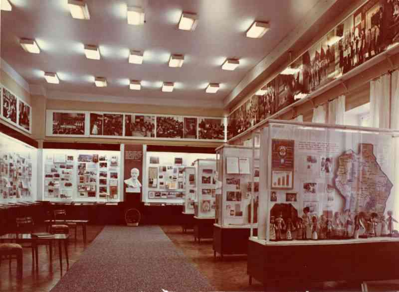 Музей до реэкспозиции (1982-1992)